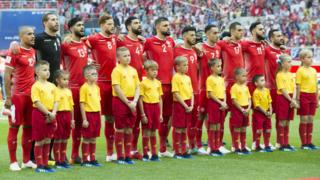 L'équipe nationale de football de Tunisie