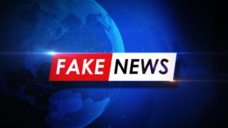 Ilustração de fake news
