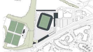 New Dundee FC stadium