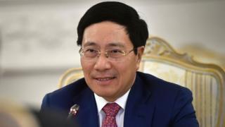 Phó Thủ tướng kiêm Ngoại trưởng Phạm Bình Minh