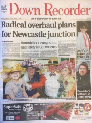 Down Recorder front page