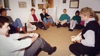 NCT antenatal class 1980s
