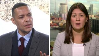 Clive Lewis and Lisa Nandy