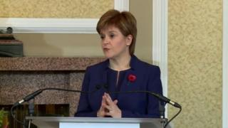 Nicola Sturgeon press conference