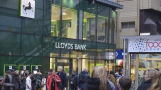 A Lloyds Bank branch