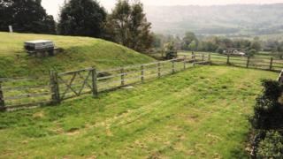 Redundant reservoir and land at Boam Lane, Hackney, Matlock, Derbyshire