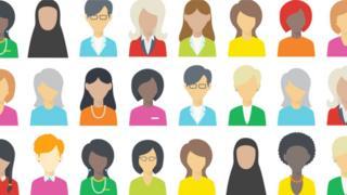 100 Women graphic