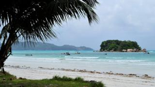 Seychelles beach - file pic