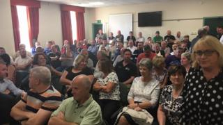 Over 200 Newry, Mourne and Down Council workers at Ballybot House