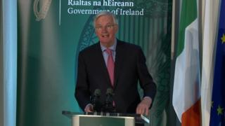 MICHEL BARNIER AT the all-island Brexit forum