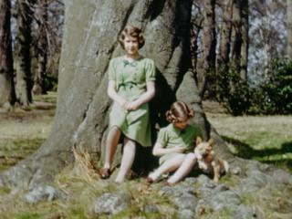 The Queen and her sister Princess Margaret