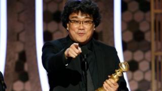 기생충은 제 77회 골든글로브 시상식에서 외국어영화상을 수상했다