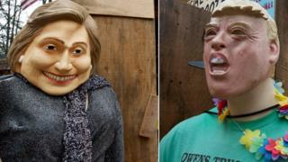 Trump and Clinton models