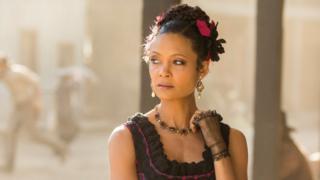 Thandie Newton as Maeve in Westworld