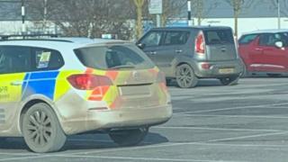 The dirty patrol car