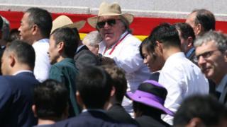 Среди гостей парада ко Дню создания КНДР заметили и французского актера Жерара Депардье, который с 2013 года стал гражданином России