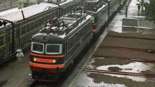 2001માં કિમ જોંગ ટુની વિશેષ ટ્રેન
