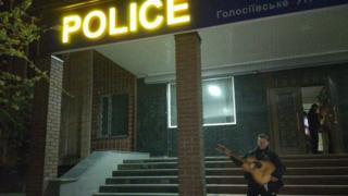 Чего только не увидишь ночью в полицейском участке