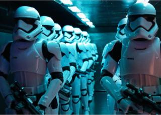 Stormtroopers on dropship