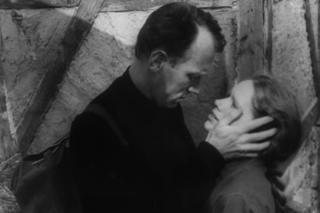 Max Von Sydow and Liv Ullman