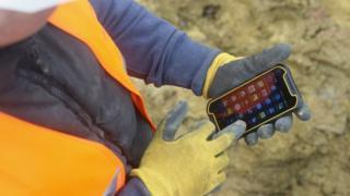 Dewalt/GMC phone