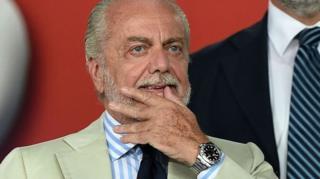 Aurelio De Laurentiis Milkiilaha kooxda kubadda cagta ee Napoli