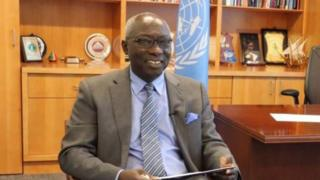 Adama Dieng, UN special adviser.