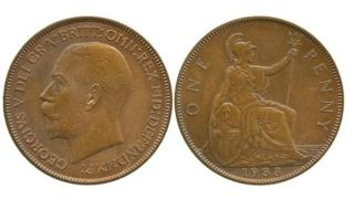 1933 Pattern pennies