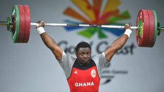 Ghana weightlifter