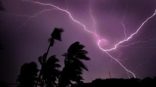 narendra modi lightning in Kolkata, May 2020