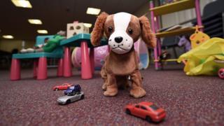 Плюшевая игрушка собаки