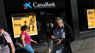 CaixaBank branch