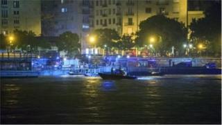 Sông Danube, Budapest xảy ra vụ tai nạn thuyền khiến 7 du khách Hàn Quốc thiệt mạng