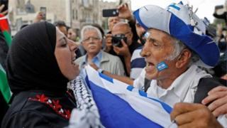 منازع فلسطینیان و اسرائیل