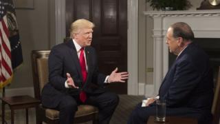 ترامپ در مصاحبه با شبکه ترینیتی