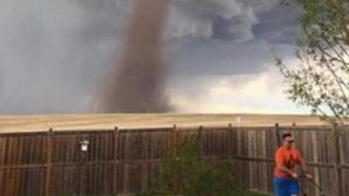 Alberta, Kanada, tornado, Wessels