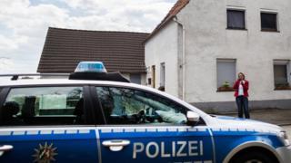 German police car - file pic
