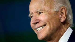 Primer plano de Joe Biden