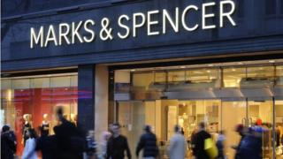 Marks & Spencer store