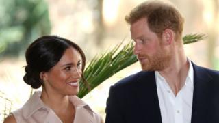 哈里與梅根發表聲明稱,他們未來計劃將時間分配在英國與北美兩地。