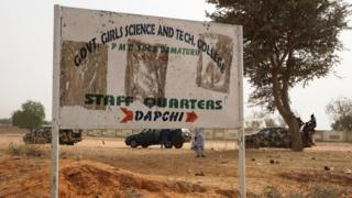 Patako afinimọna ileewe Government girls science and technical college ni Dapchi