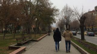 Calles de Veles, en Macedonia.