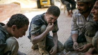 عمال بناء في مصر - سبتمبر/أيلول 2014