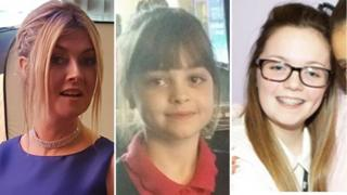 Michelle Kiss, Saffie Roussos and Georgina Callander