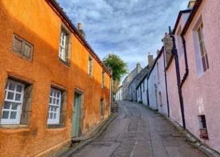 Alex Grant had a nice walk in Culross