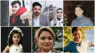 تصاویر افغانهای کشته شده