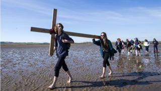 Hole Island pilgrimage