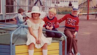 Three children, Butlins, Clacton