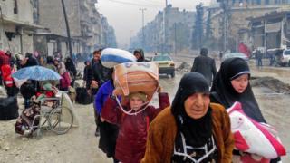 Xaaladda bariga Ghouta ayaa ah mid cakiran