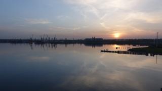 Coast in Odessa